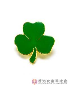 女童軍八項網領章(綠色)
