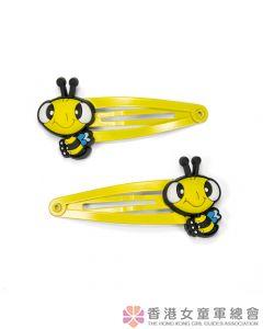 快樂小蜜蜂髮夾