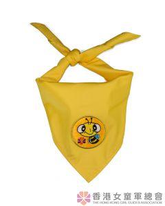 快樂小蜜蜂領巾(金)