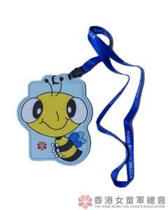 快樂小蜜蜂卡套 (配頸繩)