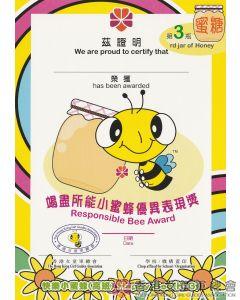 快樂小蜜蜂小證書 K3 #3
