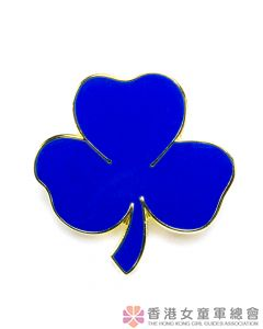 Eight Point Badge Blue