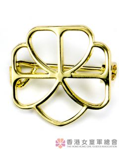 Trefoil Pin (Golden Guide)