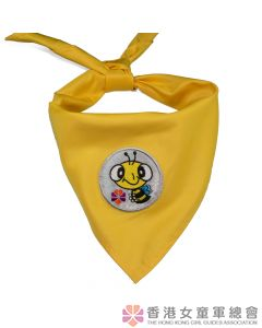 Happy Bee Scarf (Silver)