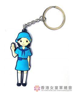 Guide PVC 3D Key Ring