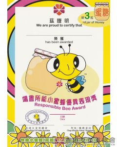 Happy Bee Small Certificate K3 #3