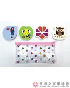 Memo Pad set with zipper bag