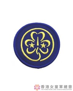 World Cloth Badge